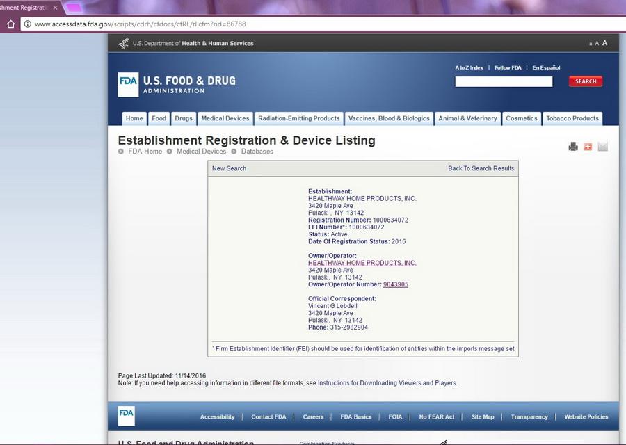 森乐T280美国生产工厂通过FDA相关认证