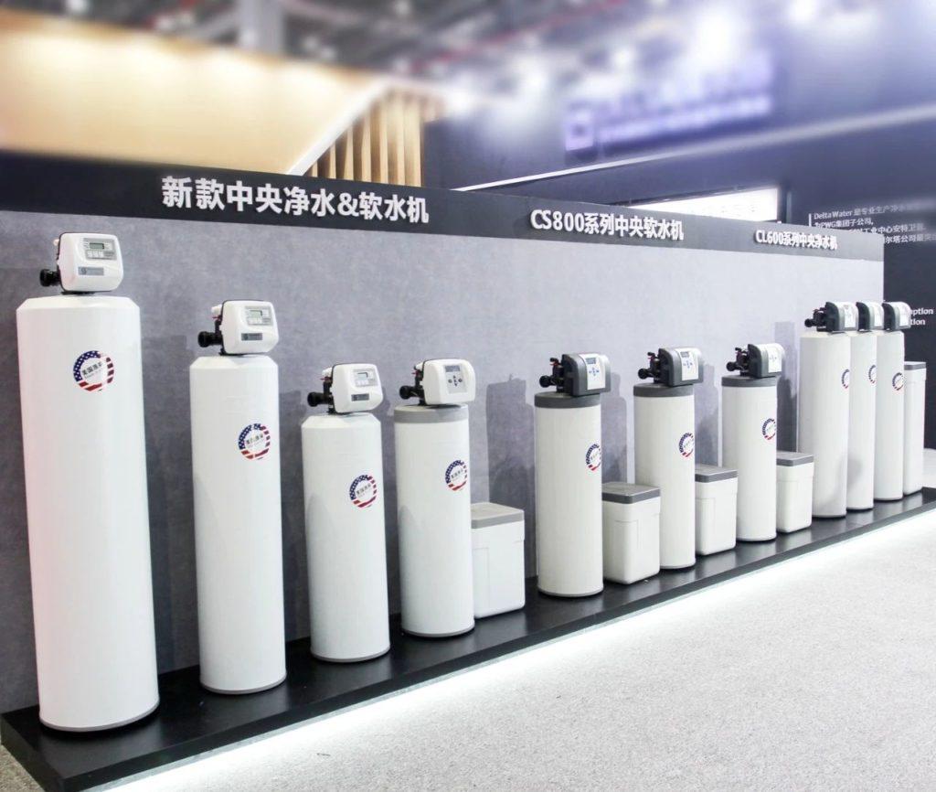 2019上海水展-森乐中央软水机